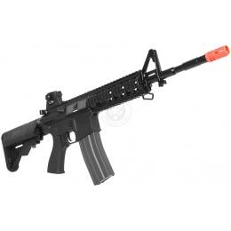 G&G Airsoft EBB GR15 Raider-L Full Metal Gearbox AEG Rifle - BLACK