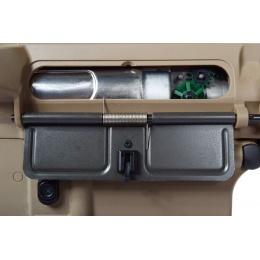 G&G Airsoft EBB GR15 Raider-L Full Metal Gearbox AEG Rifle - TAN