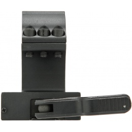 Sightmark 30mm/1 inch Medium Height QD Mount - BLACK