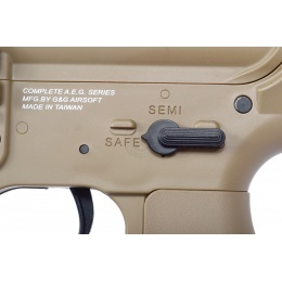 G&G Blowback M4A1 EBB Carbine Airsoft AEG Rifle - Desert TAN