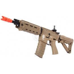 G&G GR4 G26 EBB Airsoft AEG Rifle w/ LED & Laser Units - TAN