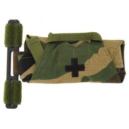 Lancer Tactical Airsoft QH Application Tourniquet Prop - WOODLAND
