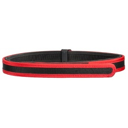 AMA Tactical Airsoft Competition Special Accessory Belt - BLACK/RED