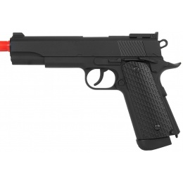 Wellfire CO2 Airsoft Non Blowback 1911 G292B Pistol - BLACK