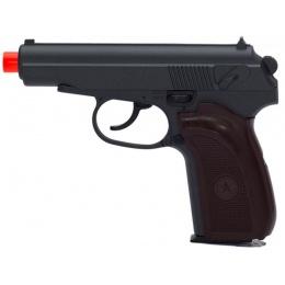 UK Arms Metal MKV G29  Spring Airsoft Pistol - BLACK