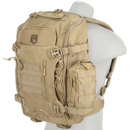 Cannae Legion Elite Day Backpack w/ Helmet Carry - COYOTE