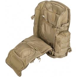 Cannae Legion Elite Day Backpack w/ Helmet Carry - COYOTE
