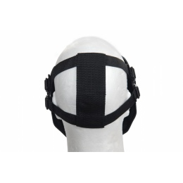 UK Arms Airsoft Gen 2 Mesh Skull Full Face Mask - SKELETON