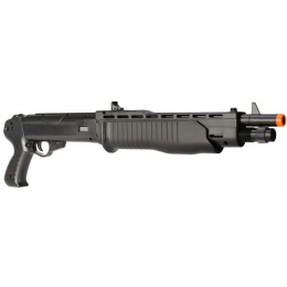 HFC Airsoft HA-232B Spring Powered Polymer Shotgun - BLACK