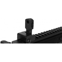 Double Eagle Airsoft M307F PDW Polymer Spring Powered Rifle - BLACK
