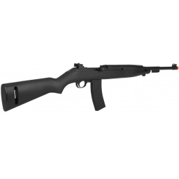 UK Arms Airsoft Spring Powered M1 Carbine Rifle  - BLACK