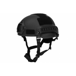 Lancer Tactical Airsoft MICH 2002 SF Type Helmet - BLACK