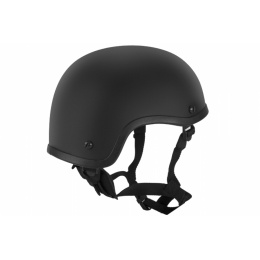 Lancer Tactical-CA-838B Airsoft Plastic Helmet - BLACK
