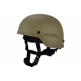 Lancer Tactical-CA-839T Airsoft Plastic Helmet - TAN