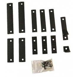 Apex Airsoft Nylon Polymer R5 Handguard Accessory Kit - BLACK