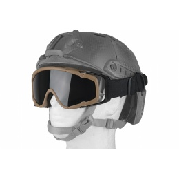 UK Arms Airsoft AC-444th SI Full Seal Goggles - TAN