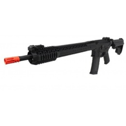 King Arms BRO M4 Fallout 15 Force Airsoft AEG Rifle - BLACK