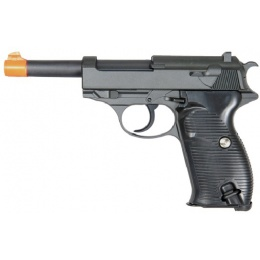 UK Arms G21 Airsoft Metal Spring Pistol - BLACK