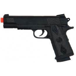 CYMA Airsoft ZM25B 230 FPS Metal Spring Pistol - BLACK