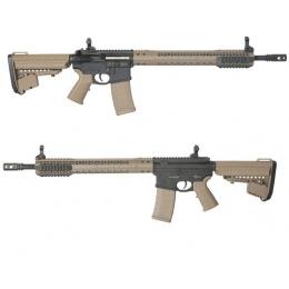 King Arms BRO M4 Fallout 15 Force Airsoft AEG Rifle - DE