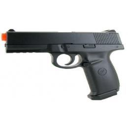 UK Arms Airsoft M27B Sigma Spring 250 FPS Pistol - BLACK