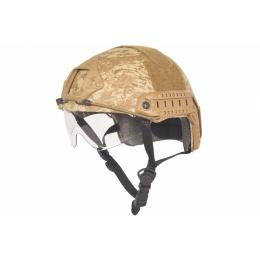 Lancer Tactical Airsoft MH CA-741D Helmet - DESERT DIGITAL