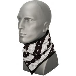 Zan Headgear Airsoft Combo Gaiter Fleece - BLACK & WHITE