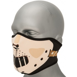 Zan Headgear Airsoft Neoprene Polyester Half Mask - HANNIBAL