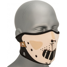 Zan Headgear Airsoft Neoprene Polyester Half Mask - HANNIBAL