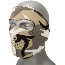 Zan Headgear Airsoft Neoprene Full Face Mask - URBAN CAMO