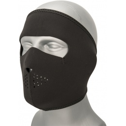 Zan Headgear Airsoft Oversize Full Face Mask - BLACK