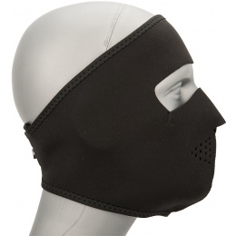 Zan Headgear Airsoft Oversize Full Face Mask - BLACK