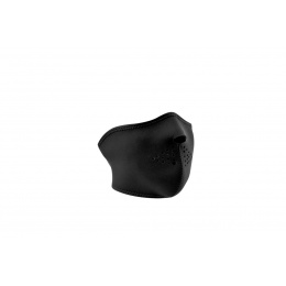 Zan Headgear Airsoft Neoprene Resistant Half Mask - BLACK