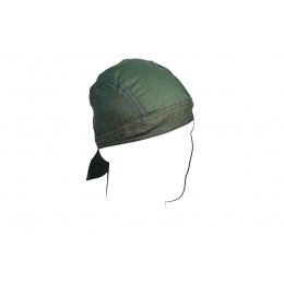 Zan Headgear Airsoft Cotton Headwrap Flydanna - OLIVE DRAB