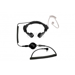 Code Red Tactical Throat Mic Assault M - Motorola 2 Pin Radios