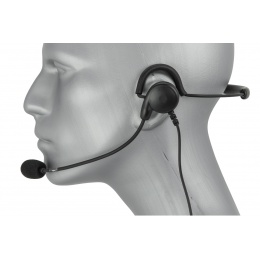 Code Red Close Quarters Boom Mic Headset - MOTOROLA 1 PIN