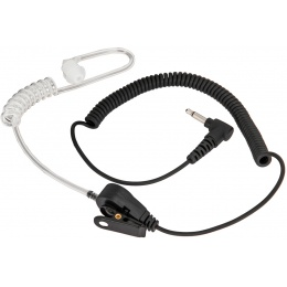 Code Red TangoJr Earpiece 3.5mm Listen-Only - BLACK