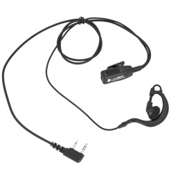 Code Red Watchman Lapel Microphone w/ PTT - KENWOOD 2 PIN