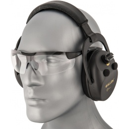 Allen Company Ballistic Muff & Tactical Glasses - BLACK