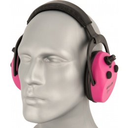 Allen Company Axion Padded Ear Protection - ORCHID