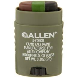 Allen Company 3-Color  Face Paint Stick - OD, BLK, BROWN
