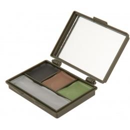 Allen Company Camo Face Paint Compact Set w/ Mirror - 4 COLOR