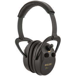 Allen Company Axion Electronic Lo-Pro Shooting Ear Muff - BLACK