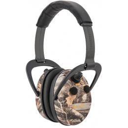 Allen Company Axion Electronic Lo-Profile Shooting Ear Muff - CAMO