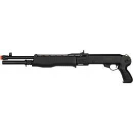 ASG Airsoft FRANCHI SPAS-12 Pump Spring Shotgun - BLACK