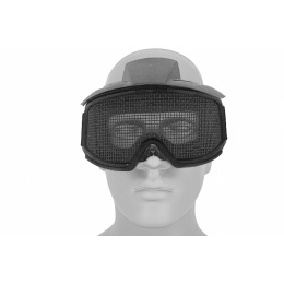AMA Tactical Airsoft Wire Mesh Safety Goggles - BLACK