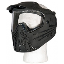 AMA Tactical Full Face Protective Mask w/ Visor - BLACK