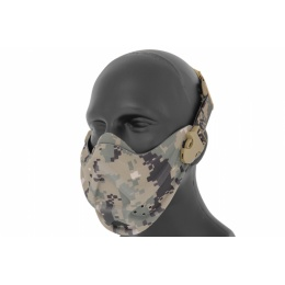 AMA Airsoft Tactical Lower Face Mask - JUNGLE DIGITAL
