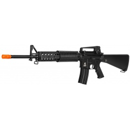 Lancer Tactical M4 AEG w/ Free Float Rail System - BLACK