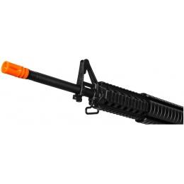 Lancer Tactical M4 AEG w/ Free Float Rail System - BLACK